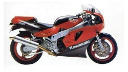 Kawasaki ZXR750H 89