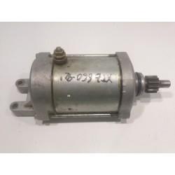 Starter motor Yamaha XTZ 660 Ténéré, years 1991 to 1996. (Ref. 2VG-81800-00).