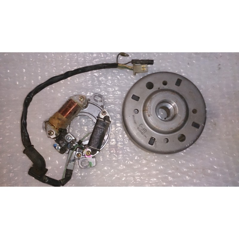 Magnetic flywheel and alternator Honda CRM 75R
