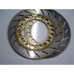 Brake discs Yamaha RD 350 golden