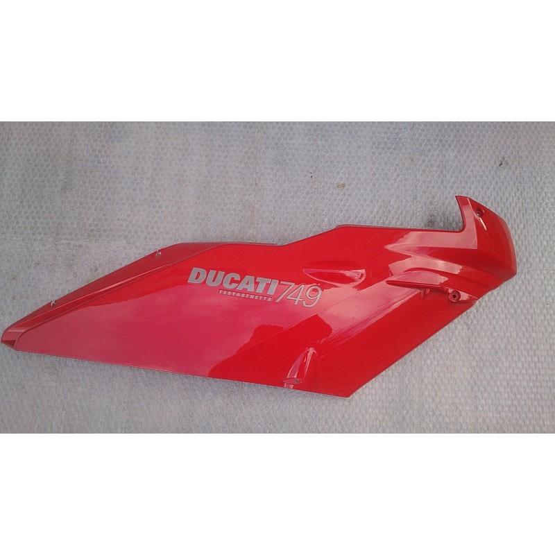 Right upper half-fairing Ducati 749