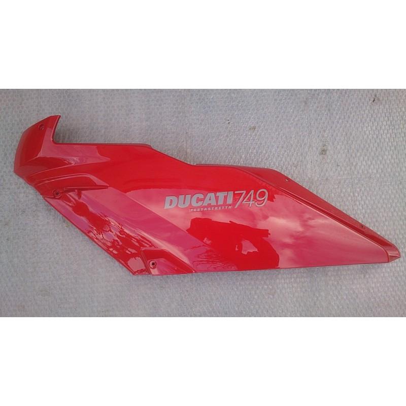 Semicarenado superior izquierdo Ducati 749