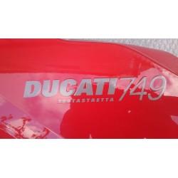 Semicarenat superior esquerre Ducati 749