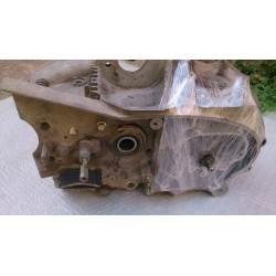 Engine crankcase and crankshaft with sprocket starter Sanglas 400F