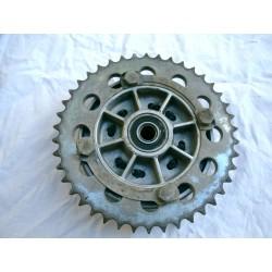 Corona cadena y disco acoplamiento Laverda 350