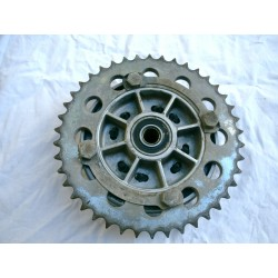 Crown wheel and coupling disc Laverda 350