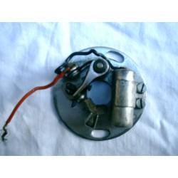 Conjunto condensador y platinos Sanglas 400F