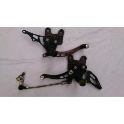 LIGHTECH adjustable foot plate Suzuki GSX-R 600