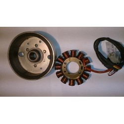 Magneto flywheel assembly Suzuki Katana 50