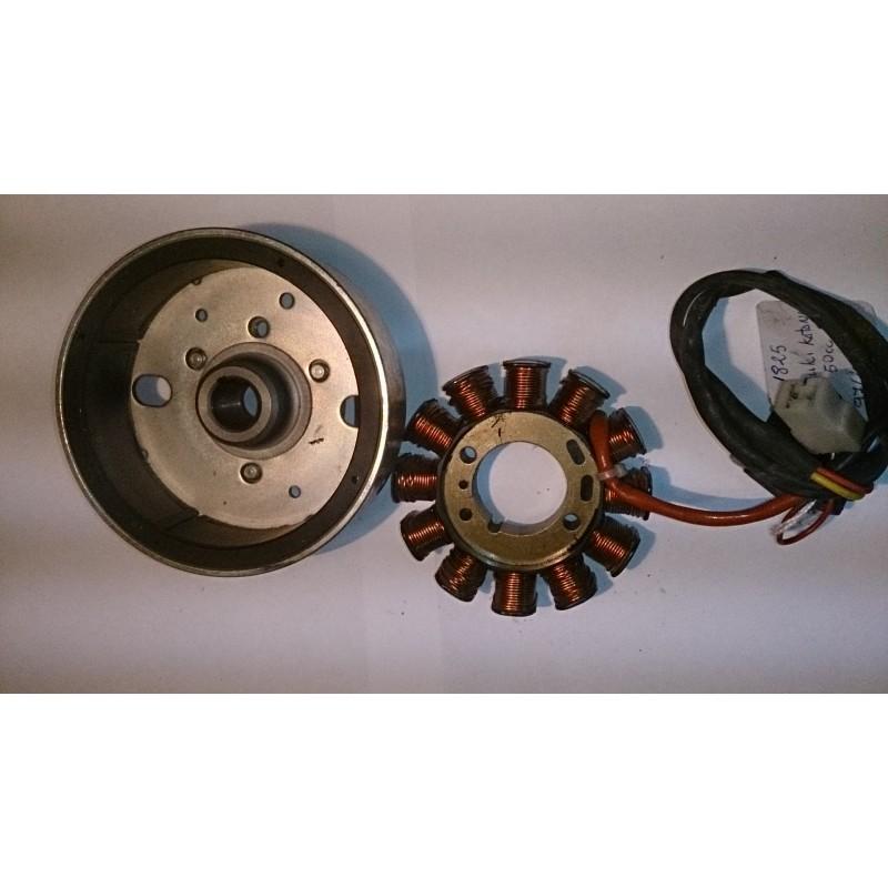 Magneto flywheel assembly Suzuki Katana 50