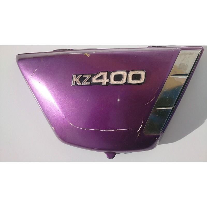Tapa lateral dreta Kawasaki KZ 400