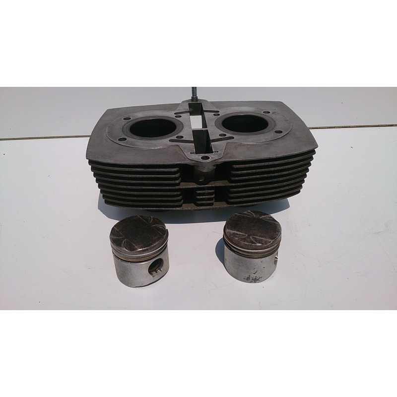 Cylinder and pistons Laverda 350