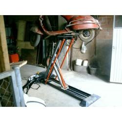 Elevador BIKE LIFT eléctrico monofasico hidraulico