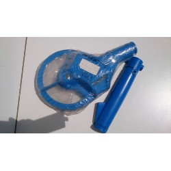 Front fork protective covers Suzuki DR 50 BIG - BLUE