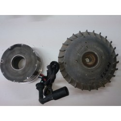 Magnetic flywheel and stator Vespa PK125S / PK75S (Femsa - 9211335276)