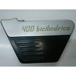 Left side cover under seat Sanglas-Yamaha 400Y Bicilindrica.