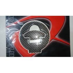 Protector interior tapon gasolina carbono Ducati