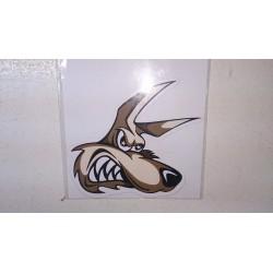 Sticker wolf.