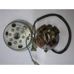Magnetic flywheel and alternator Derbi GPR75 (Motoplat)