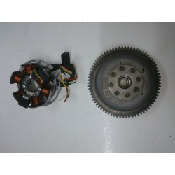 Minarelli engine flywheel and alternator AM5 / AM6
