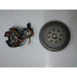 Minarelli engine flywheel and alternator AM5 / AM6