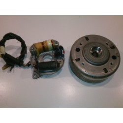Magnetic flywheel and alternator Honda Scoopy SH75