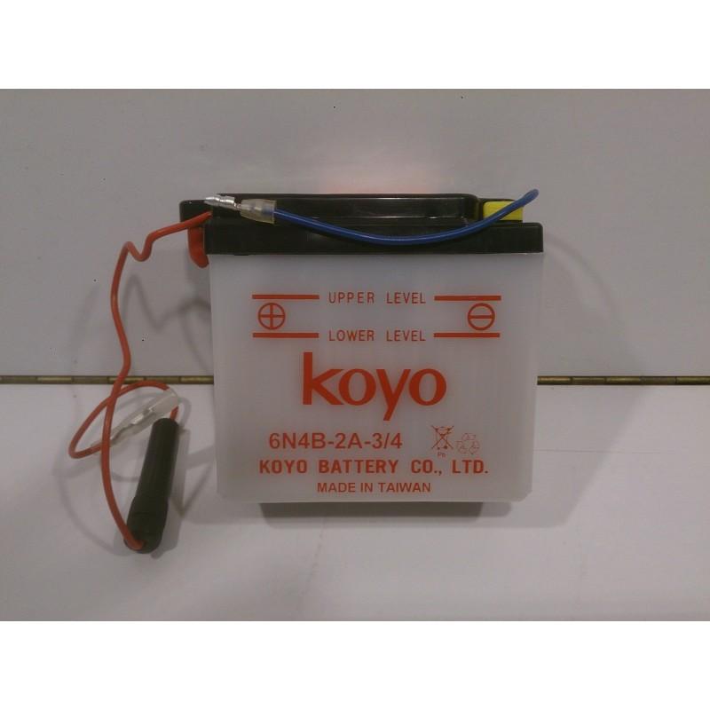 Battery Koyo 6v 6N4B-2A-3/4