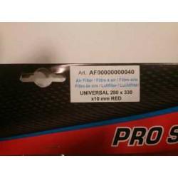 Universal air filter foam