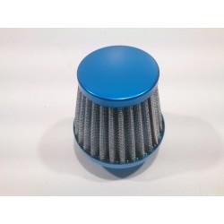 Filtre d'aire cònic recte 28/35 blau.
