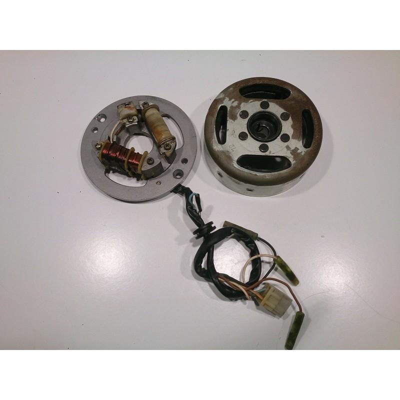 Magnetic flywheel and alternator Yamaha DT80 (36N)