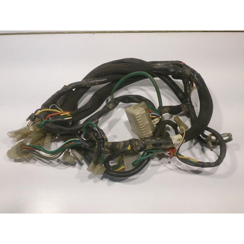 Instal·lació elèctrica cables Honda XL 200R París-Dakar