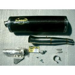 Escapament o silenciós Laser Suzuki GSX-R 1000 K5