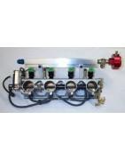 Carburadors e injectors usads per a moto.