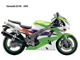 Kawasaki ZX-6R 1995