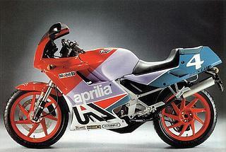 Aprilia AF1 125 Sintesi Replica 1989