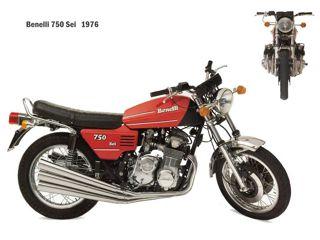 Benelli 750 Sei 1976
