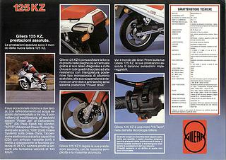 Gilera KZ125 1986