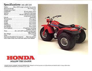 Honda ATC 200 1981