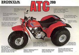 Honda ATC 200 1983