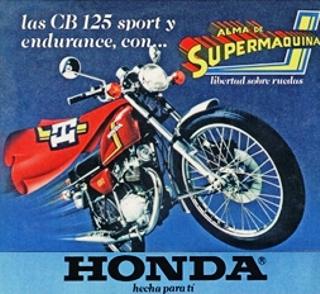 Honda CB125X 1981