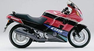 Honda CBR 1000F 1991-1992