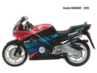 Honda CBR 600F 1991.