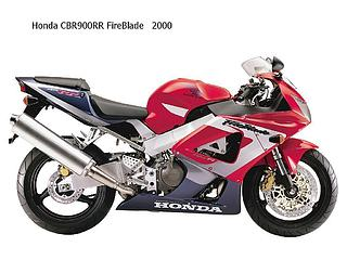 Honda CBR 900RR FireBlade-2000