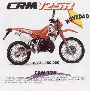 Honda CRM 125R 1991
