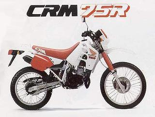 Honda CRM 75R 1991