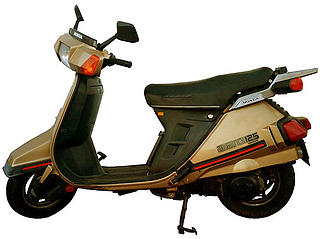 Honda NH 125 Aero 1984