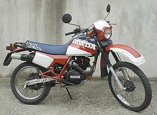 Honda XL 200R París Dakar