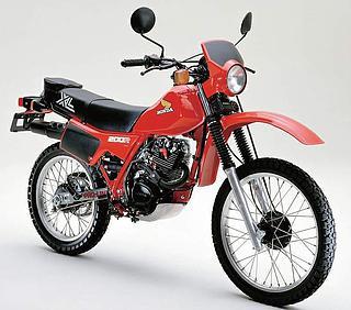 Honda XL200R 1983-1984