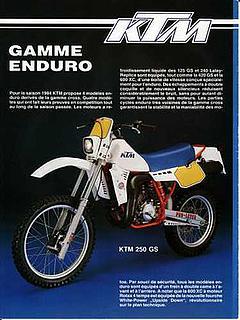 KTM 250GS 1983-1986