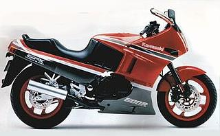 Kawasaki GPX 600R 1989